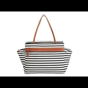 New Dsw striped Weekender
